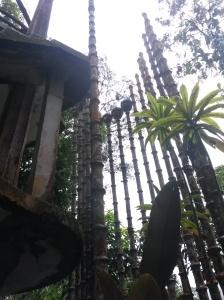 concrete bamboo